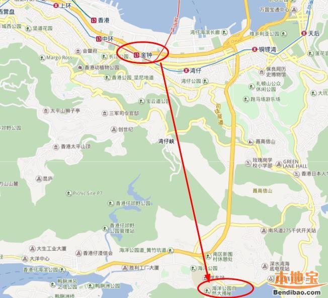 南港岛线开通 深圳去香港海洋公园可地铁直达