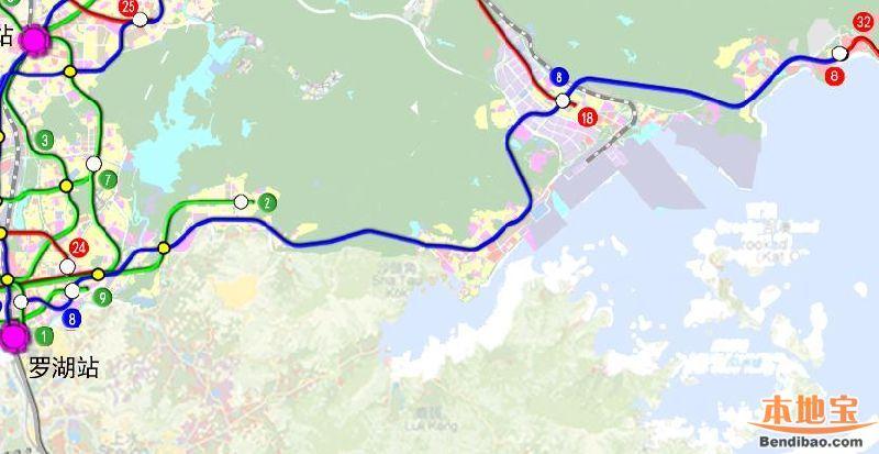 深圳地铁8号线最新规划(站点+线路图+开通时间+进展)