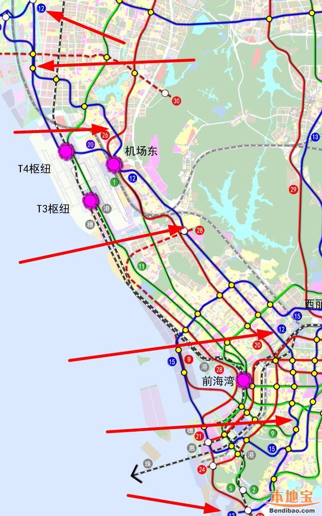 深圳地铁12号线(站点+线路图+开工开通时间+进展)