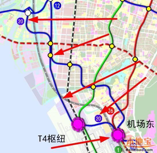 深圳地铁20号线(站点+线路图+开通时间+进展)