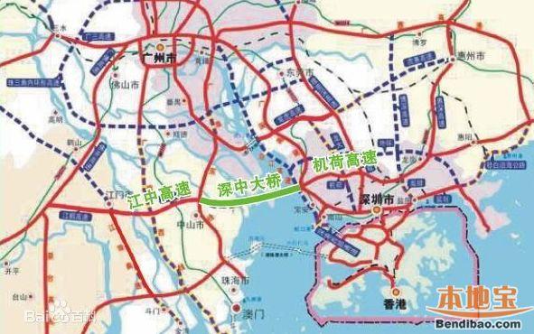 深中通道桥隧主体11月开工 深圳侧接线5月全线开建