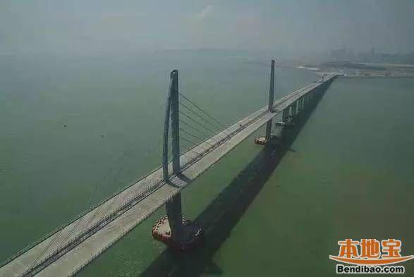港珠澳大桥4月底全线贯通 目前只差183米