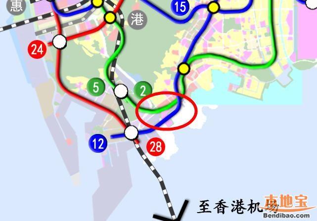 深圳蛇口太子湾交通规划一览(道路+地铁+深中航线)