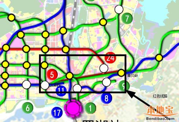 深圳地铁5号线西延线首次环评公示 仅设1个换乘站