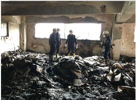 违规操作电焊引火灾 五人被拘留