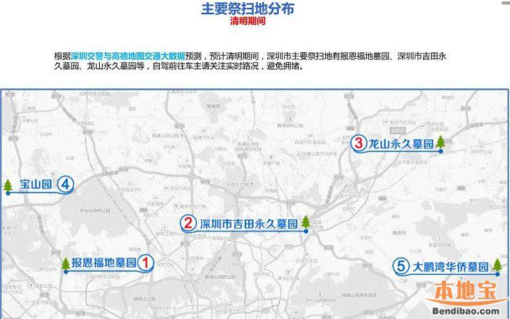 深圳各大墓园公交地铁交通指引 高峰期请勿开车前往