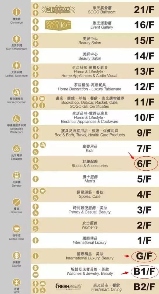 2018崇光百货店庆攻略!营业时间 交通指南 楼层分布