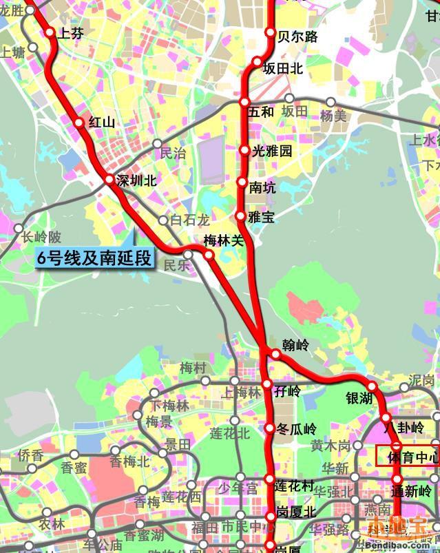 深圳地铁6号线二期体育中心站封顶 盾构成功下穿4号线