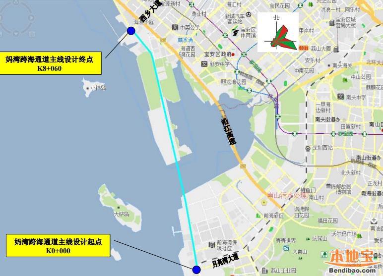 大铲湾港区_妈湾跨海通道环评公告发布 计划2018年1月开工建设 - 深圳本地宝