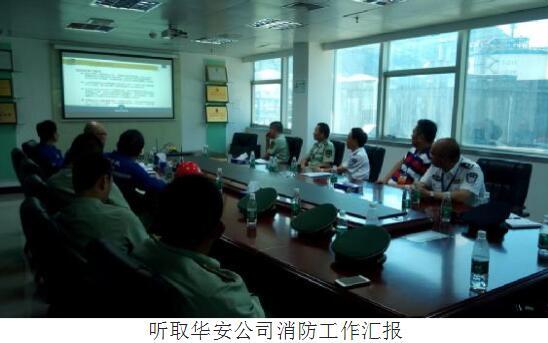 甘桂平同志检查指导大鹏新区易燃易爆高危单位消防安全工作