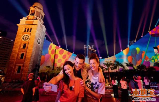到香港嗨玩一夏 电音节光影秀超多优惠