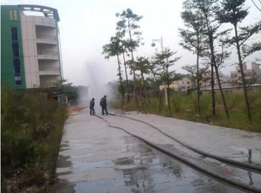 李朗所开展高层建筑消防演练 提升应急能力