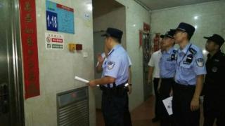 龙岗警方开展高层建筑 消防安全检查行动