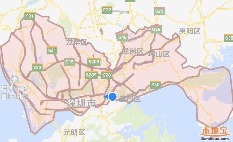 深圳外地车免限行通行证微信申请入口