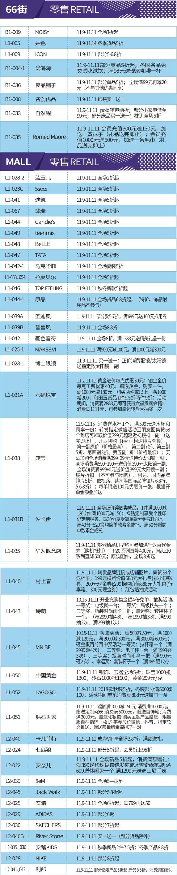 11月9日AT MALL上塘荟绚彩开业!玩美生活@你!