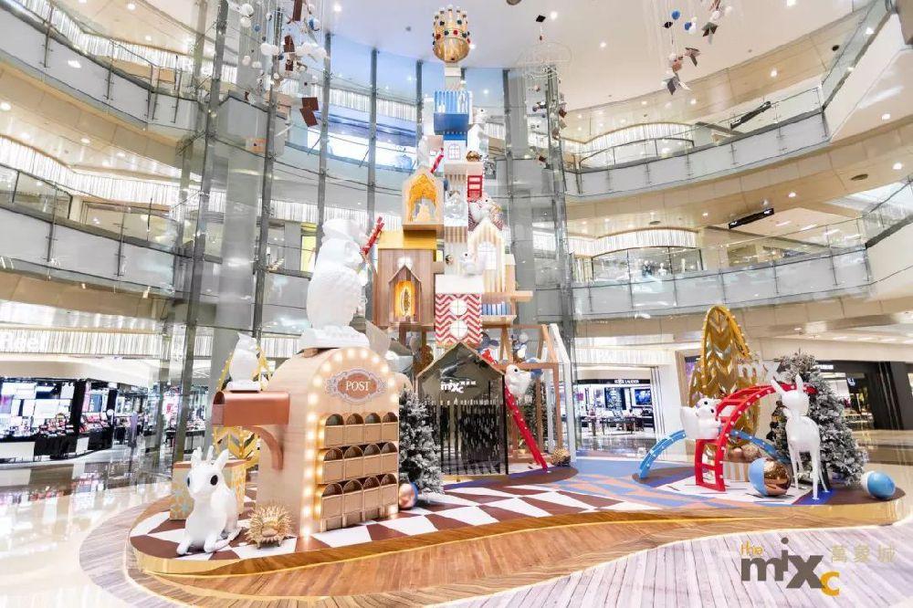 2018深圳万象城圣诞活动及装置