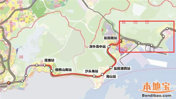 官方最新!深圳地铁8号线二期工程开工时间