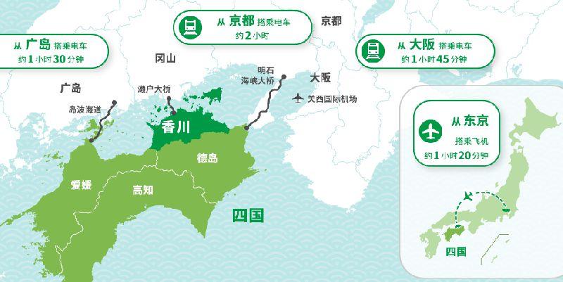 日本香川县旅游攻略(地理位置 交通 景点推荐)