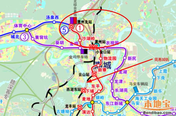 深惠城轨有望重启 争取纳入粤港澳大湾区轨道交通规划
