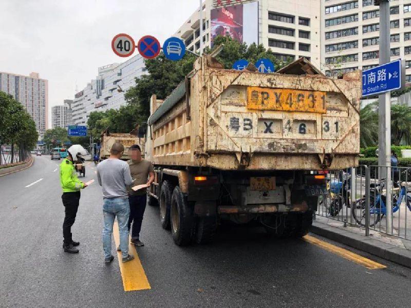 即日起 泥头车不在深圳年审不能办理通行证