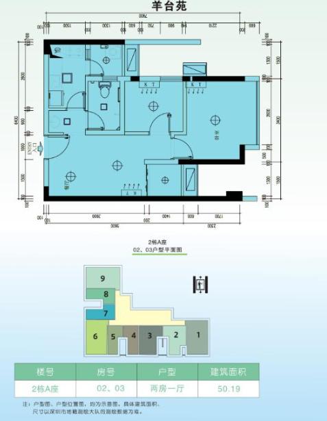 深圳公租房最新消息 宝安羊台苑一期公租房户型图 价格  如果市民想第