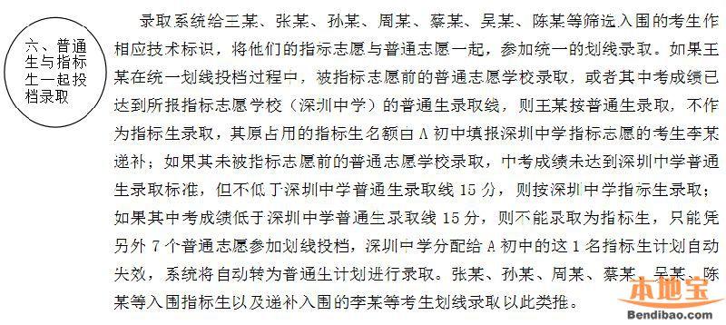 2018深圳中考志愿填报全攻略(时间 提醒 办法 录取)