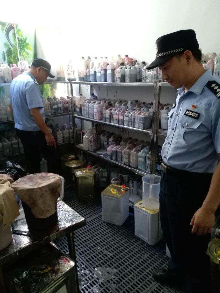 非法储存危险物质 荷坳一企业负责人被拘留