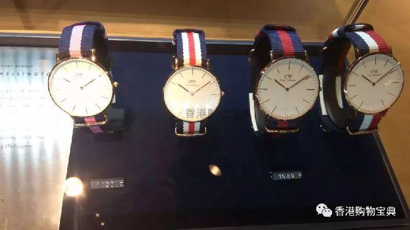 香港DW手表专柜实拍!简约百搭是真的好看(附地址)