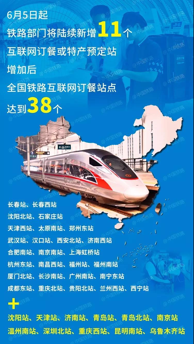 深圳北站坐高铁可以点外卖了 还能预订特产