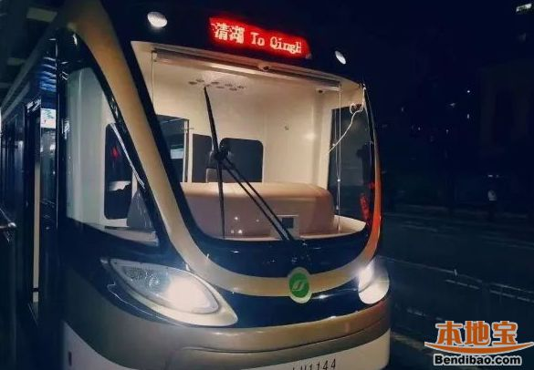 2018年深圳有轨电车端午前夜调整运营时间 延时1小时