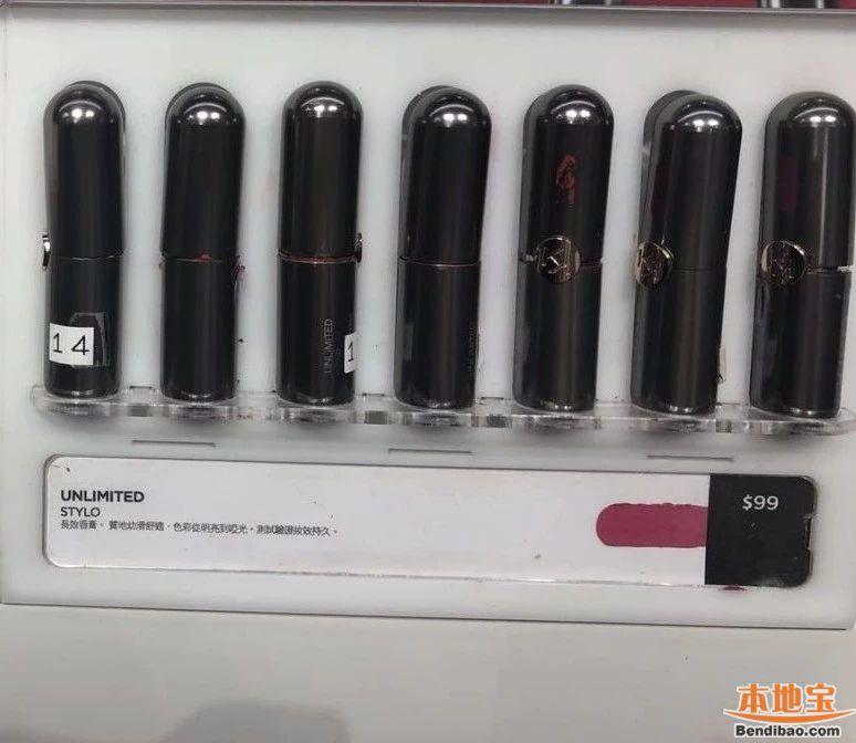 KIKO口红香港专柜实拍报价