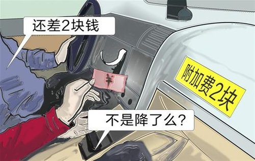深圳出租车燃油附加费6月15日起降至2元