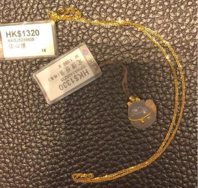 六福珠宝上水专柜实拍~钻戒、串饰样样都想要啊啊!