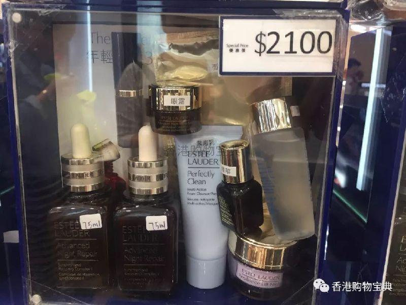 香港沙田新城市广场雅诗兰黛专柜实拍(价格 交通指南)
