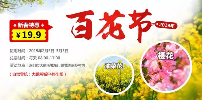 2019深圳鹏城百花节盛大开幕