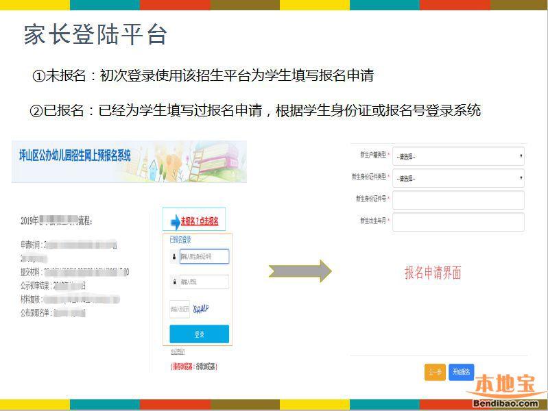 坪山区幼儿园网上报名入口(公办 小区配套 其他)