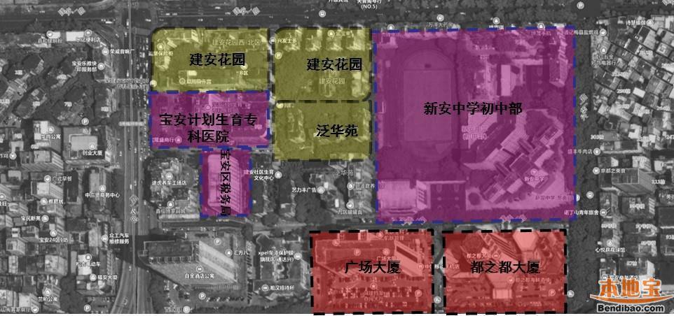 新安中学初中部周边交通整治方案出炉 这些路拟改为单行道
