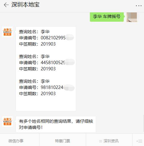 深圳2019年第4期车牌摇号结果出炉