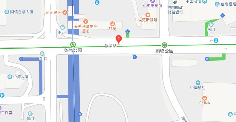 深圳购物公园地铁站是几号线(首末班车 出入口)