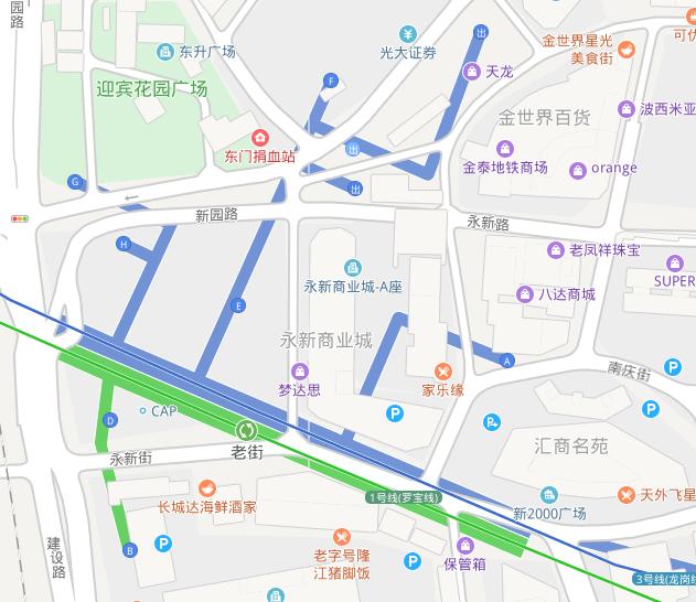 东门老街地铁站是几号线(附出口查询及首末班车时间)