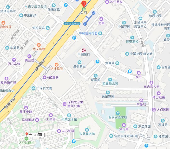 深圳地铁大芬站首末班车及出口查询