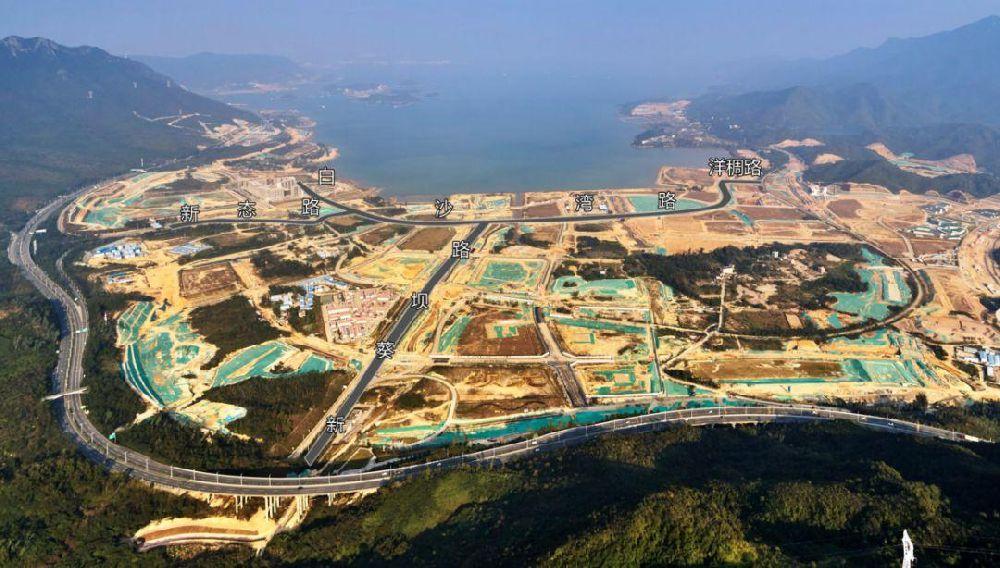 深圳坝核公路已废弃 前往坝光请注意绕行