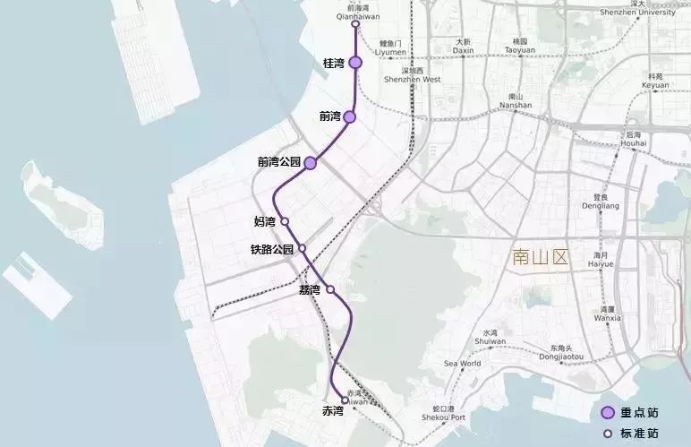 2019深圳17条在建地铁一览(线路图 站点 最新进展)