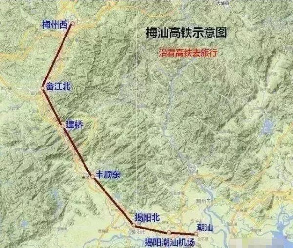 梅汕高铁目前进入铺轨阶段 预计2019年下半年通车