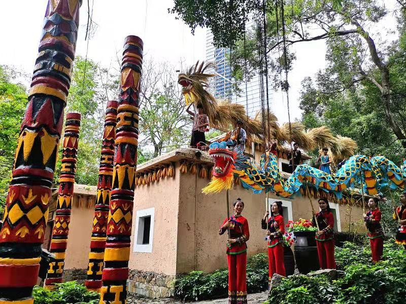 二月二龙抬头 来锦绣中华看传统民俗——舞草龙