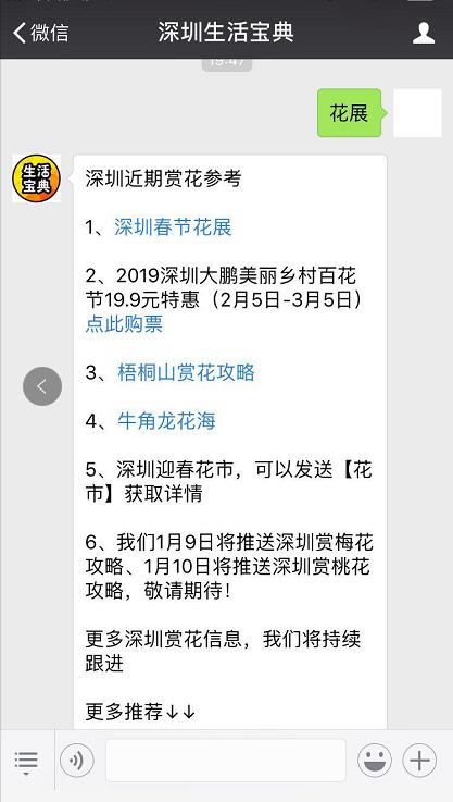 2019春节深圳花展汇总(持续更新)