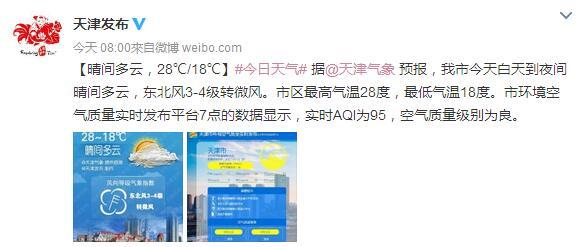 2017天津天气预报(每日更新)
