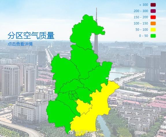 天津今日空气质量