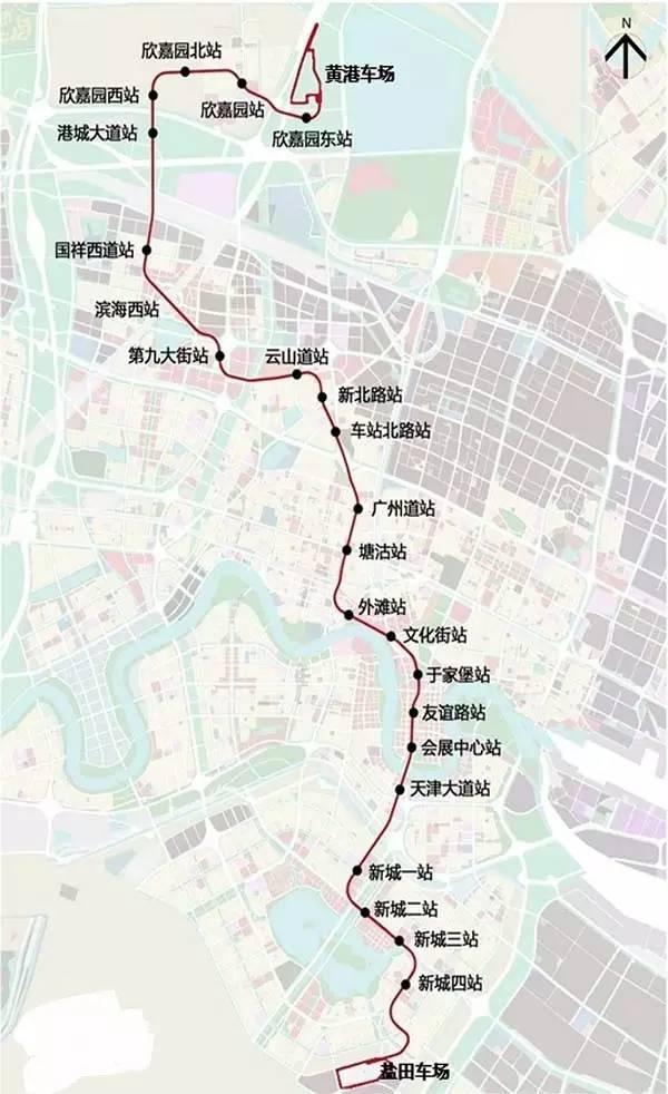 北京地铁最新规划图_天津地铁B1线,最新天津地铁B1线线路图_站点_开通时间-天津本地宝