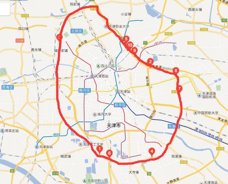 天津外环线内和滨海新区建成区内禁鸣